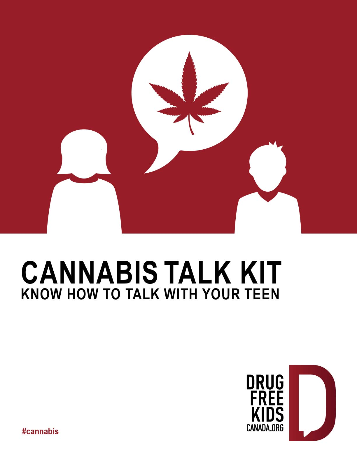 Cannabis talk kit: know how to talk with your teen. 5