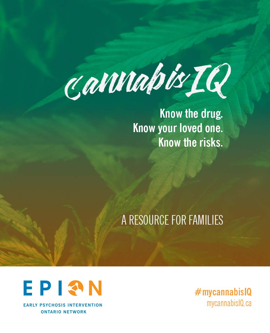 MyCannabisIQ: A resource for families. Know the drug. Know your loved one. Know the risks. (via EPION)